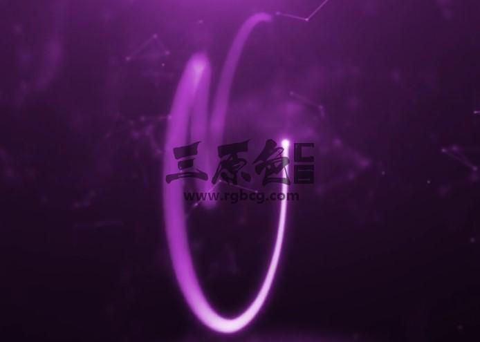 AE模板 - 魔术粒子光效LOGO描边动画片头 Magic Light Ae 模板-第1张