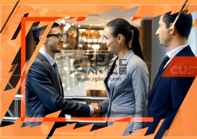 AE模板 现代化企业商务合作幻灯片展示 Modern Corporate Slideshow Ae 模板-第1张