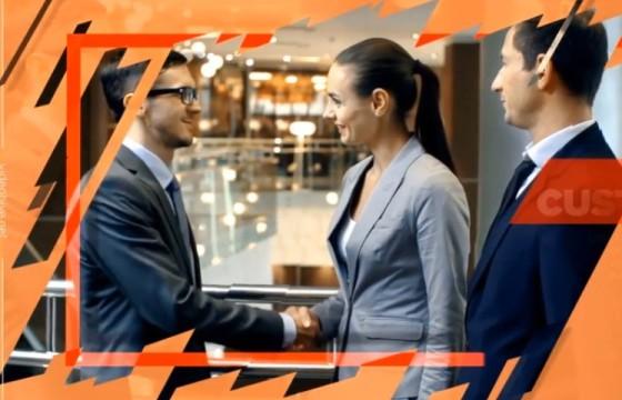 AE模板 现代化企业商务合作幻灯片展示 Modern Corporate Slideshow