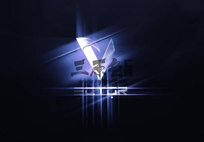 AE模板 - LOGO标志发光射线效果动画片头 Starglow Logo Reveal Ae 模板-第1张