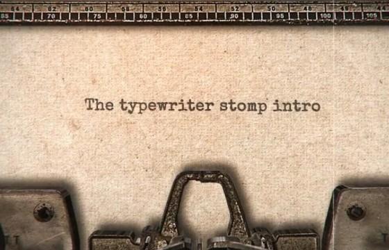AE模板 怀旧复古风格文字快闪模板 Typewriter Stomp Intro