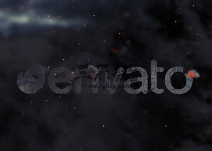 AE模板 - 三维手雷破碎汇聚LOGO动画演绎 Weapon Reveal Ae 模板-第1张