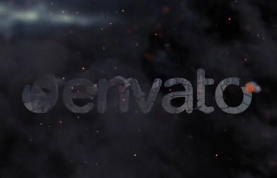 AE模板 – 三维手雷破碎汇聚LOGO动画演绎 Weapon Reveal