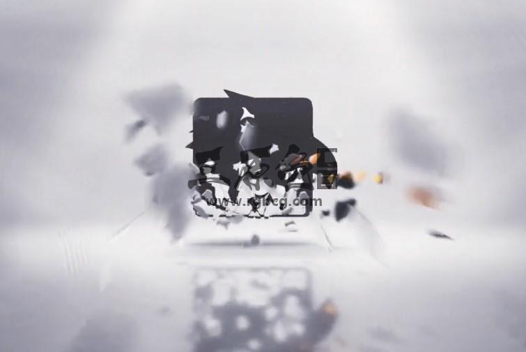 AE模板 炫酷三维碎片汇聚组合LOGO动画展示 Logo Reveal Ae 模板-第1张