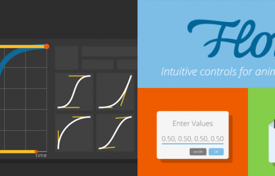 AE扩展脚本 MG动画弹性缓入缓出关键帧调节曲线脚本 Flow v1.4 Win/Mac