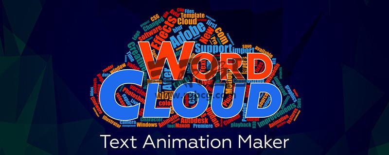 AE脚本扩展 文字形状组合动画制作插件 Aescripts Word Cloud v1.0.3+教程 脚本/预设-第1张