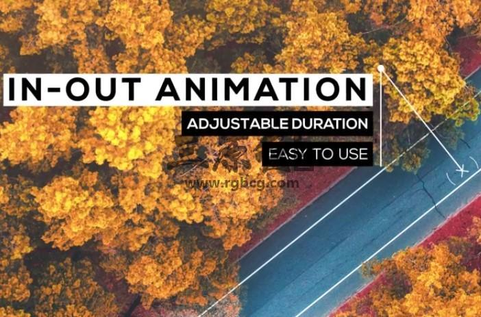 Pr图形模板 Mogrt预设 呼出指示线文字动画 Call-Outs Tool Kit Pr 模板-第1张