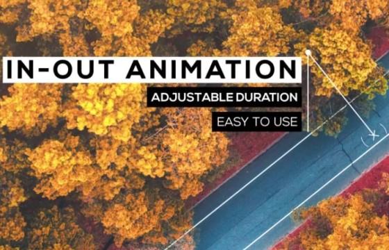 Pr图形模板 Mogrt预设 呼出指示线文字动画 Call-Outs Tool Kit