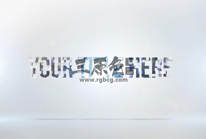 Pr模板 MOGRT基本图形预设 文字标题动画 Clean Title Stinger Pr 模板-第1张