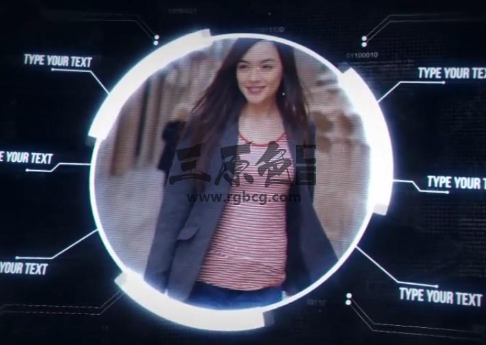 AE模板 HUD科技产品介绍展示动画 VideoHive Digital Promo Ae 模板-第1张