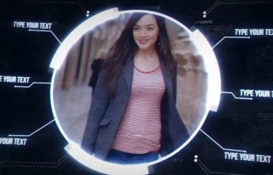AE模板 HUD科技产品介绍展示动画 VideoHive Digital Promo
