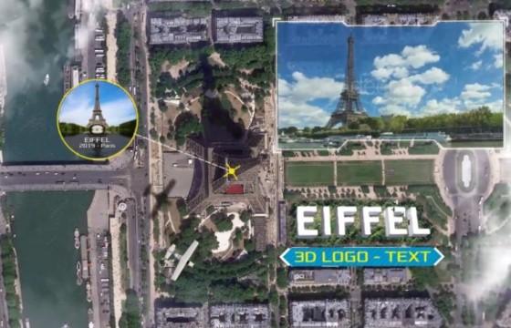 AE脚本 地球放大变焦定位标记动画 Earth Zoom Multi Kit v5