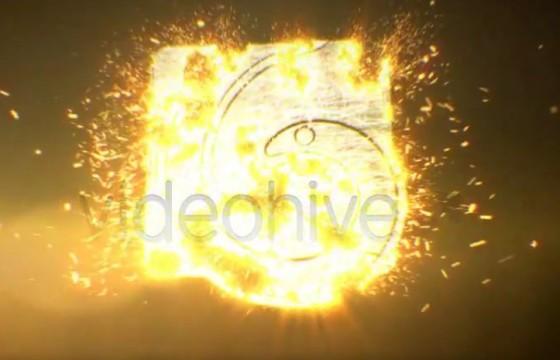 AE模板 史诗般的粒子文字标题汇聚动画 Epic Particle Titles