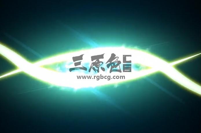 AE模板 快速发光条纹LOGO显示动画 Fast Smoky Streaks Logo Sting Ae 模板-第1张