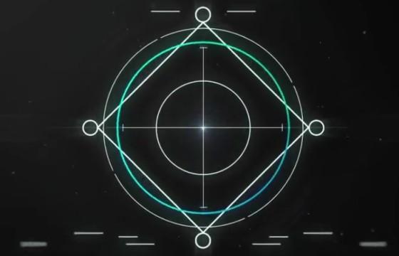 AE模板 线条科技感LOGO标志网址显示 Intense Logo Reveal