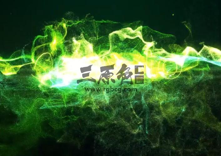 AE模板 - 粒子光效汇聚爆炸LOGO标志显示片头 Particle Light Reveal Ae 模板-第1张