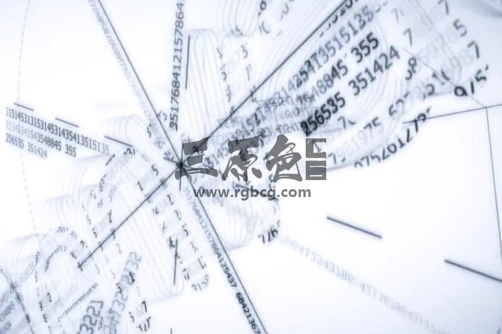AE模板 - 素描数字公式LOGO动画显示片头 Quick Digital Sketch Logo Ae 模板-第1张