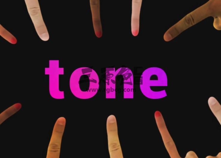 AE模板 手势多功能滑屏动画快闪 Touch Stomp Typography Ae 模板-第1张