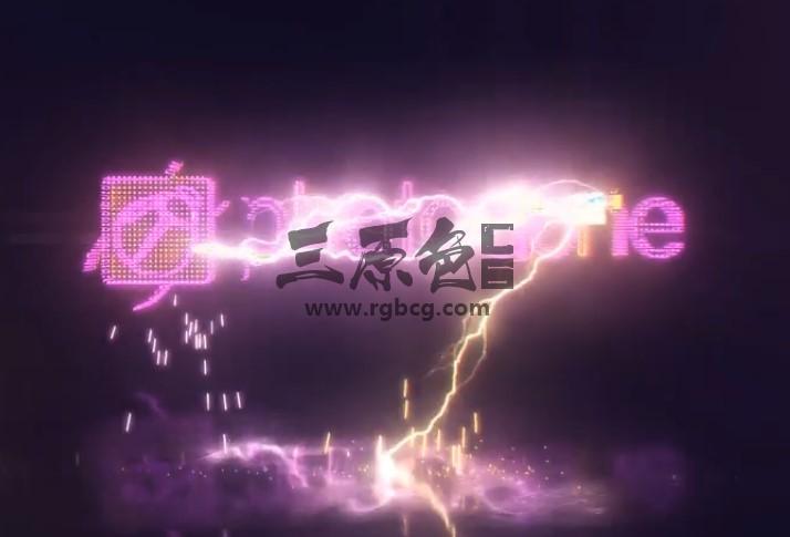 AE模板 - LED发光LOGO标志闪电特效片头 Videohive Energetic Electrify Ae 模板-第1张