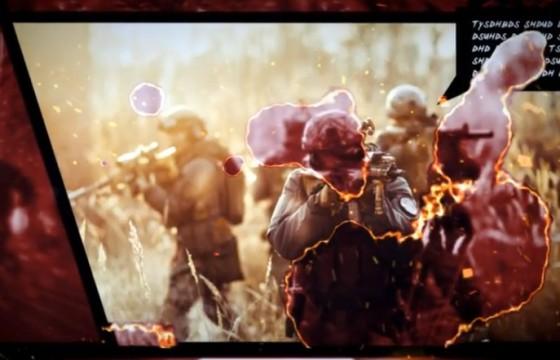 AE模板 火焰焚烧动作转场过渡效果漫画 Action Comic V2