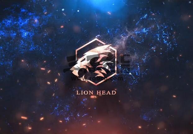 Pr图形模板 Mogrt预设 文字图形LOGO标题片头 Cinematic Logo Pr 模板-第1张