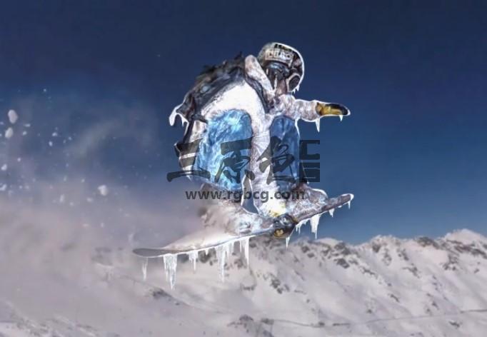 AE模板 快速冷冻特效工具模板 VideoHive Freezing Tool Ae 模板-第1张