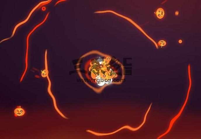 AE模板 线性图标动画汇聚LOGO显示片头 Lines Logo Reveal Ae 模板-第1张