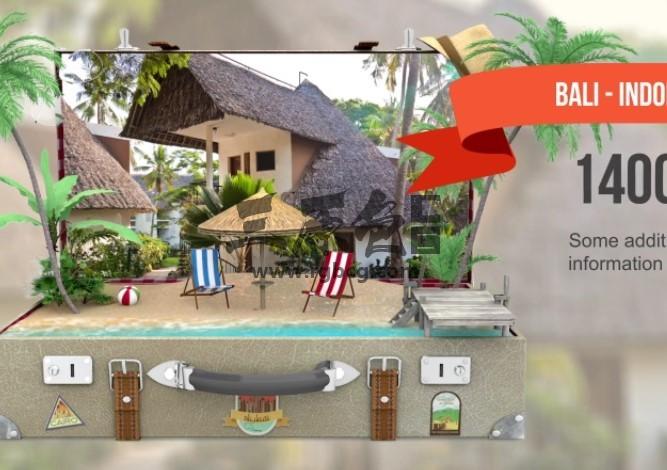 AE模板 - 创意旅游景点宣传片动画 VideoHive Travel Promo Ae 模板-第1张