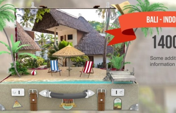 AE模板 – 创意旅游景点宣传片动画 VideoHive Travel Promo