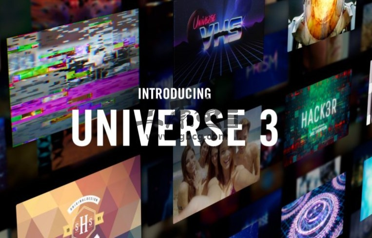 宇宙特效插件 Red Giant Universe v3.0.2 for Adobe AE Pr & OFX Ae 插件-第1张