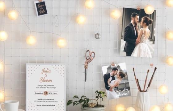 AE模板 创意时尚婚礼邀请视频模板 Wedding Invitation Template