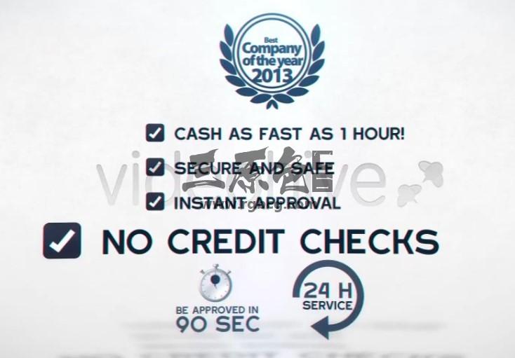 AE模板 信用公司LOGO标志文字介绍片头 Your Best Credit Company Logo Ae 模板-第1张