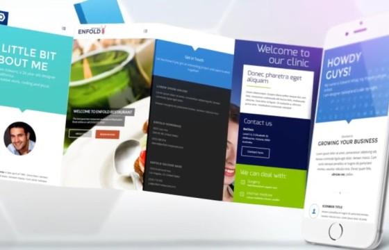 AE模板 手机APP界面功能展示动画片头 VideoHive App Promotion