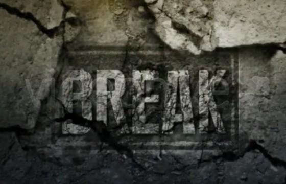 AE模板 墙壁墙面剥落文字显示特效 Breaking The Fourth Wall