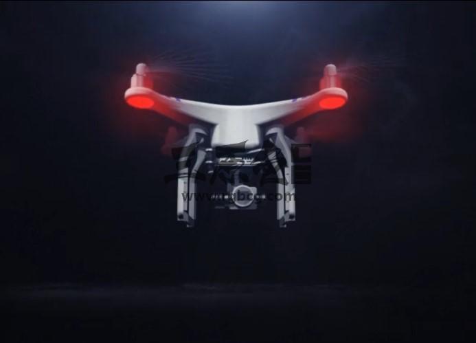 AE模板 无人机飞行器变形显示文字LOGO片头 Drone Reveal Ae 模板-第1张