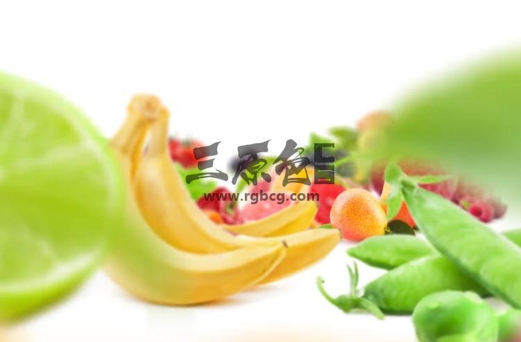 AE模板 绿色健康果蔬LOGO文字片头 Healthy Food Opener Ae 模板-第1张
