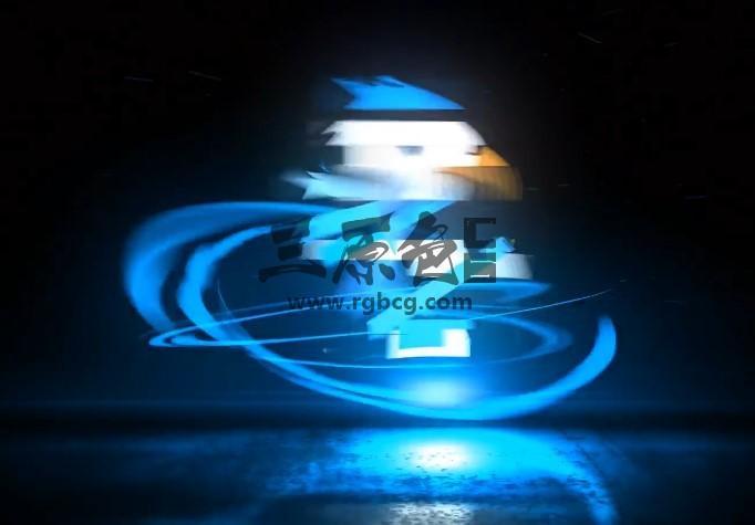 AE模板 光线特效LOGO标志动画片头 VideoHive Light Logo Ae 模板-第1张