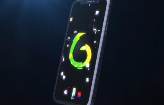 AE模板 – 创意手机移动端LOGO标志片头 Mobile Logo Reveal