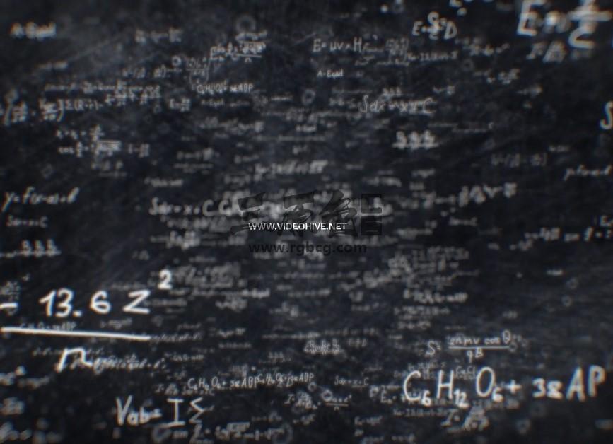 AE模板 公式代码科学LOGO标志网址片头 Science Logo Ae 模板-第1张