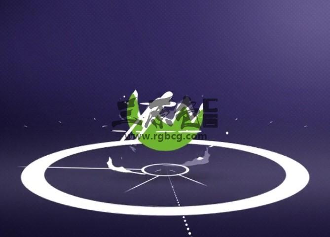 AE模板 简单的液体飞溅LOGO动画片头 Simple Splash Logo Ae 模板-第1张