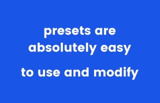 AE预设 170个FFX文字特效动画预设 Text Presets