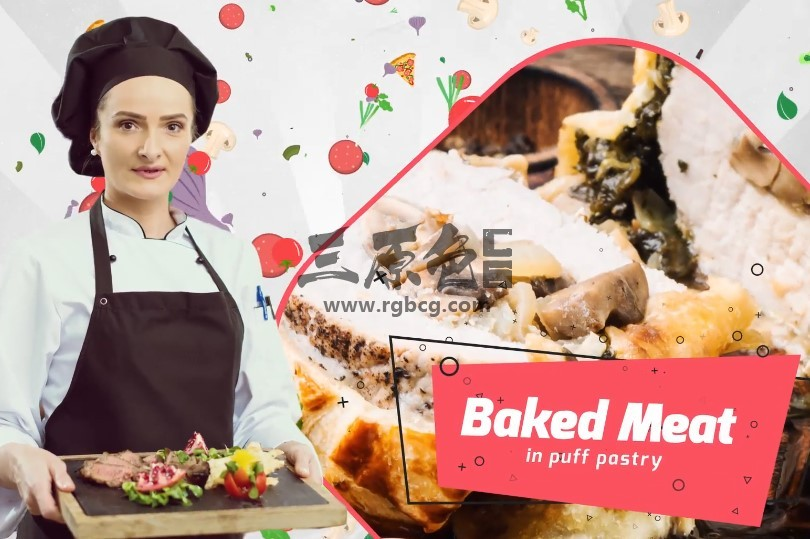 AE模板 餐厅活动打折促销视频广告 Chefs Choice Restaurant Promo Ae 模板-第1张
