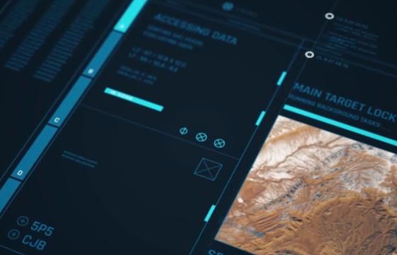AE模板 高科技HUD软件机械框架透明动画 HUD Framework