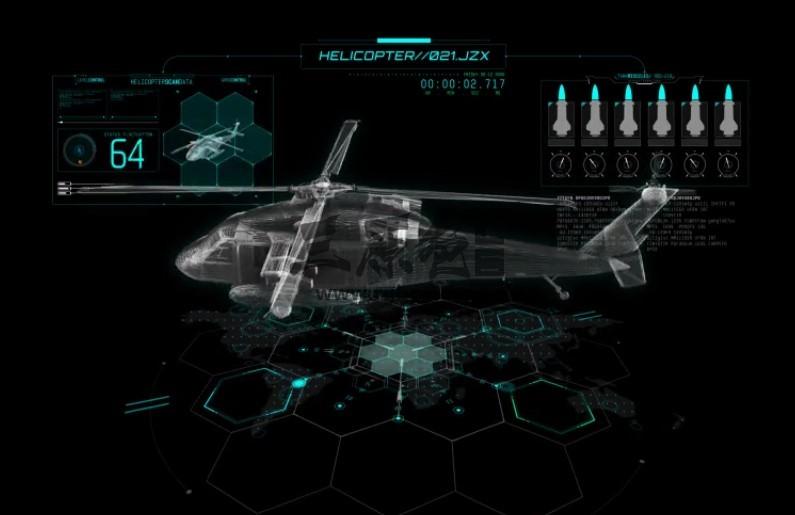 AE模板 - 高科技HUD透明动画元素 Hud Elements Pack Ae 模板-第1张