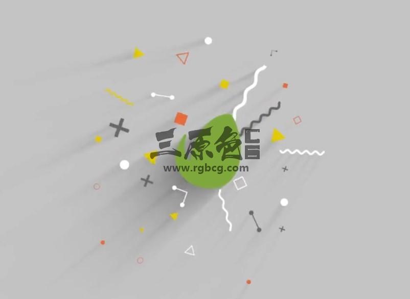 AE模板 MG卡通动画LOGO片头 Minimal Logo Reveal Ae 模板-第1张