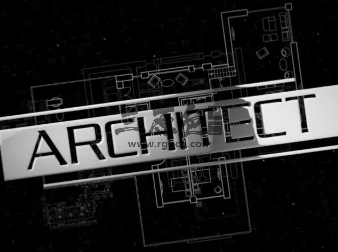 AE模板 房屋建筑LOGO标志显示片头 Architect Logo Reveal Ae 模板-第1张