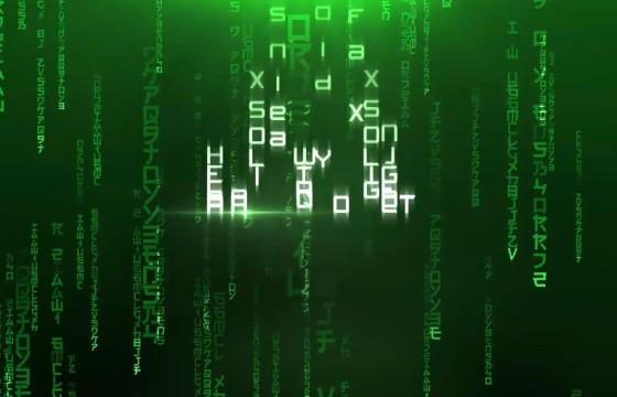 AE模板 – 黑客帝国文字片头显示特效 Cinematic Titles