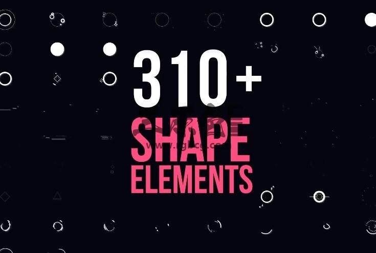 Pr基本图形模板 - 图形动画转场过渡效果 Motion Elements Pack Pr 模板-第1张