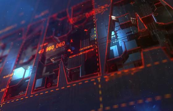 AE模板 – 三维机械LOGO动画显示片头 Transforming Element3D Logo