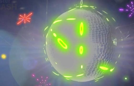 AE模板 – 霓虹灯效果MG图形动画素材 Neon Elements